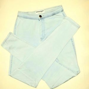 American Apparel High Waisted Skinny Jeans S